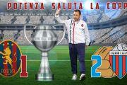 Il Potenza saluta la Coppa